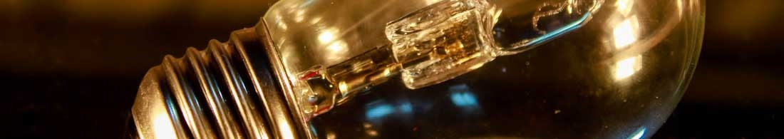 Klassiska halogenlampor
