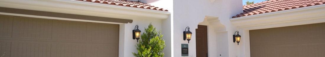 Vegglamper utendørs