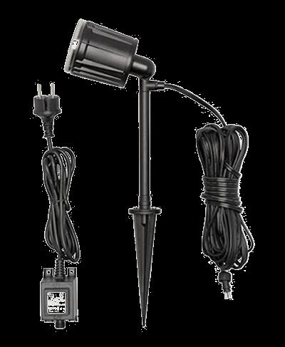 Hagebelysning LED-lys 12V-system