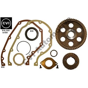 Timing gear set steel, B18/B20/B30 (Volvo Genuine all-steel kit)