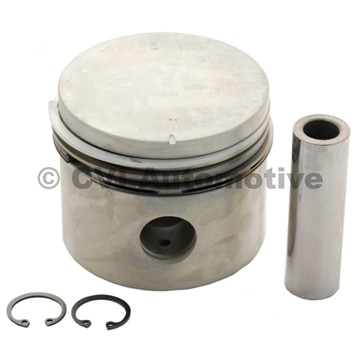 Piston with rings, B18 Std (Mahle)