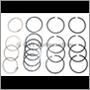 Piston ring set B18 +040, 1 engine