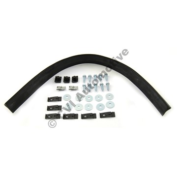 Fitting kit Az front wing, genuine (with rubber strip)