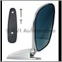 Door mirror, blue-tinted flat LH/RH (affixed via screws outside)