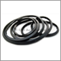 Rear screen seal, P220, up to Ch no. -44599 (NB. For cars without bright trim)