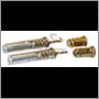 Lock set (4-pc.), 1800   (Volvo OE) (doors, boot lid, filler cap)