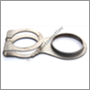 Tailpipe clamp, Amazon early & Duett P210