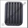 Pedal rubber, Amazon/P1800/240 (brake/clutch 1957-1993)