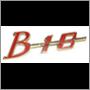 """B18"" grille badge, -1964 (NLA)"