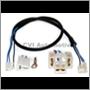 Headlamp cable, 1800E/ES '70-'72 (Cables perpendicular)