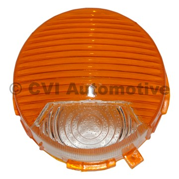 Flasher lens front P1800 (white/orange)
