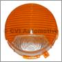 Flasher lens P1800 (white/orange)