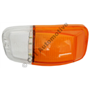 Blinkersglas fram, Amazon B18/B20 vä (klar/orange)