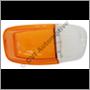 Flasher lens, Amazon B18/B20 RH (orange/clear)
