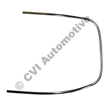 Rear screen trim P1800, RH