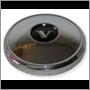 Hub cap, Az/PV/Du/1800 '65- (stainless steel)