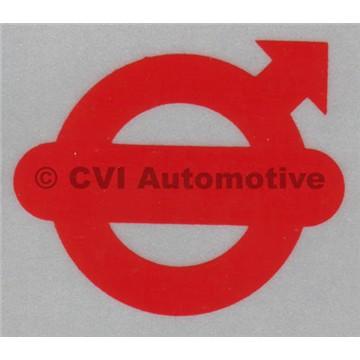 "Reflector emblem, door ""Volvo"""