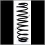 Rear coil spring PV444/544 (Lesjöfors)