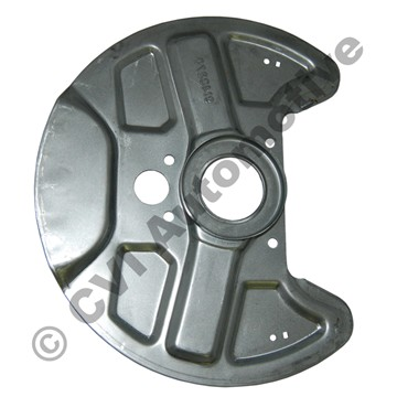 Disc backplate front 700/900 ABS 82- +S90/V90  (for cars with ABS)
