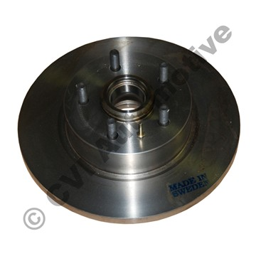"""Brake disc front 700 '82-'84 Girling (15"""" solid with hub)"""