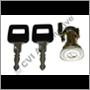 Låscyl+nyckel 240 dörr 81-93 Hö
