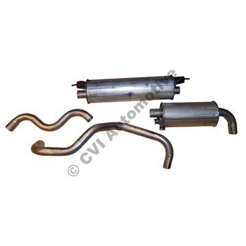 Avgashalvsats 200 B21/23 75-89 (även B230 ej turbo, ej diesel)