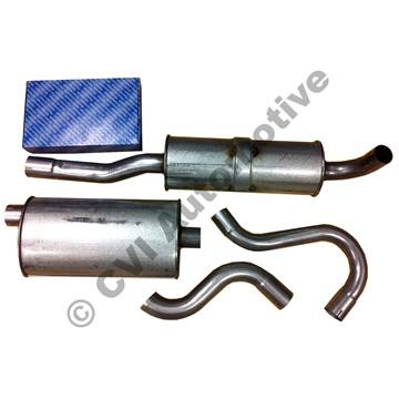 Avgassats 700/900 turbo 82-98 (ej för M-L)