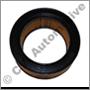 Air filter element, B20A  (Mahle/Knecht)