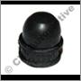 Dust cover for bleed screws (Girling type)