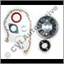 Kamdrevsats B18/B20/B30A (R) (Obs! Aluminiumdrev)