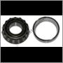 Rear bearing, M410 (Timken) (inner + outer)