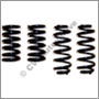 Spring kit (lowering), Volvo 140 1967-73 (lowers approx. 30 mm)