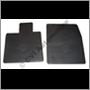 Gummimattsats (tillbehör) P1800 svart -'69