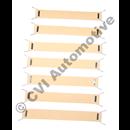 Pirellibandsats 1800S/E framsits 64-71 (för 1 framsits)