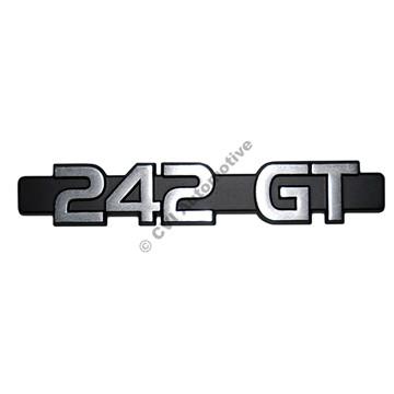 Emblem 242 GT (-1979) (Volvo genuine)