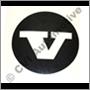 Dekal (svart) för navkapsel 670437 (KS)