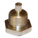 Magnetic oil drain plug, without gasket. For Volvo B18, B20, B30 and late B16 (not B4B)