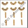 Pin wing screw set B18/B20/B30 (not for ball bearing pump)