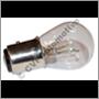 Glödlampa 6v, 20/5w BAY15D 2-polig