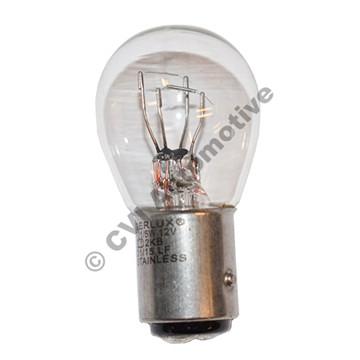 Bulb, front flasher/stop light 12v 21/5w
