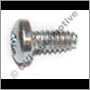 Screw for diaphragm retainer, Stromberg CD (4/carburettor)