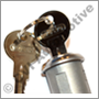 "Door lock with 2 keys, PV/Duett (with ""Volvo"" on key)"