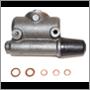Brake cylinder set, 544 B16/Duett '58-'60 (5 cyls/3 hoses) 544 B16 ch# 207865 to 1960