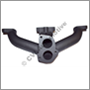 Exhaust manifold, B20E/F (140/1800) (18 mm flange - for injection engines)