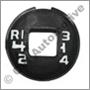 Symbolskiva växelspaksknopp M46 240/740 81-
