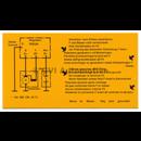 Decal, B16 charging regulator