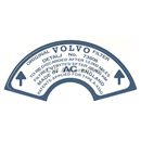 Sticker for 73606 air filter