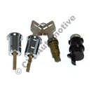Låssats 200 75-77 dörr/bag/handskfack