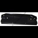 Heat shield by rear axle, 240