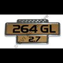 Emblem 264 GL